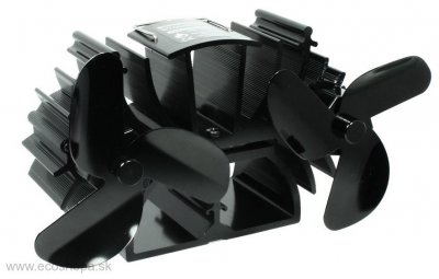 Ecosavers Twin Stove Fan